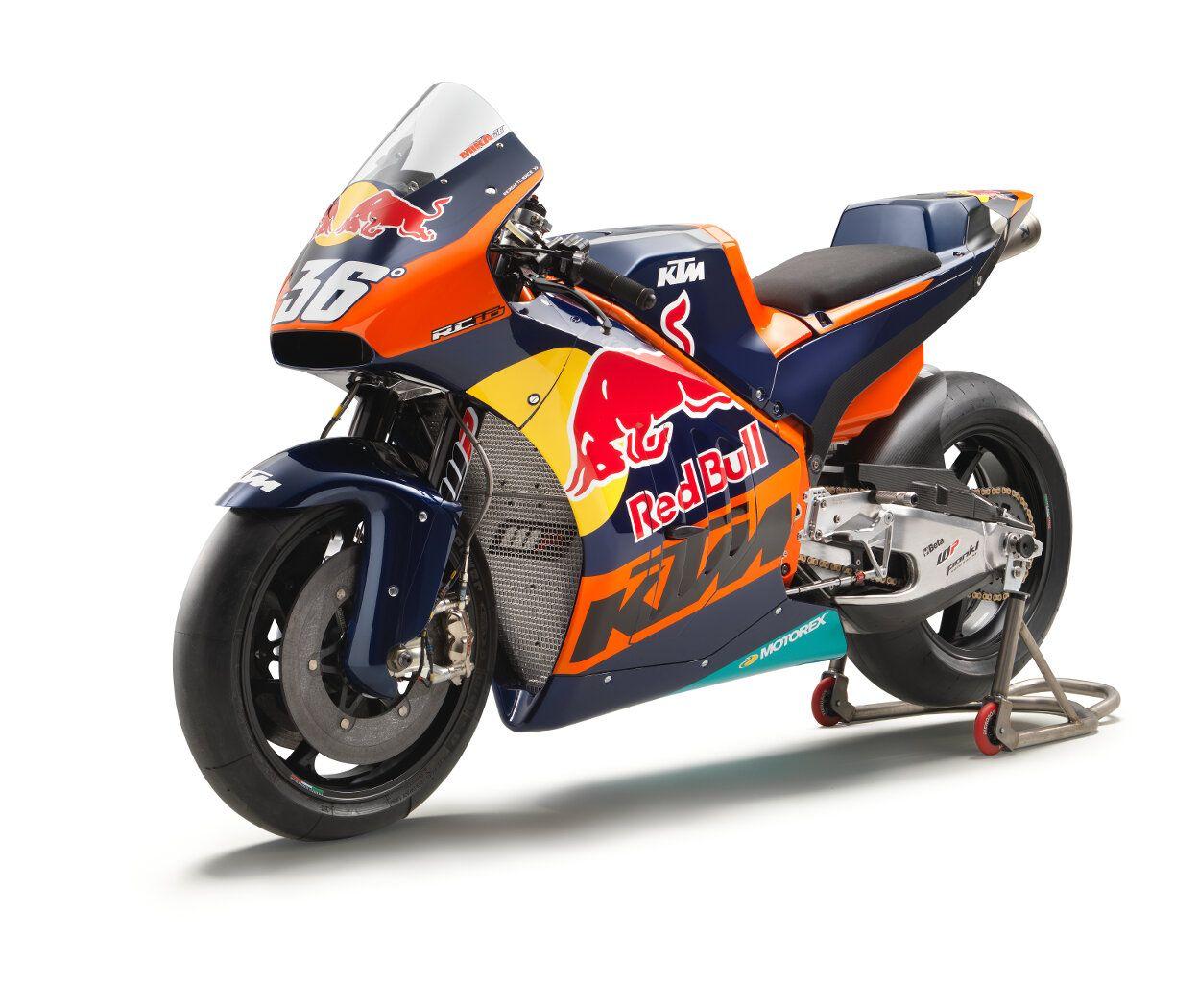 Ktm Rc16 Motogp Bike Gets Official Outing Rescogs Ktm Racing Bikes Motorcycle
