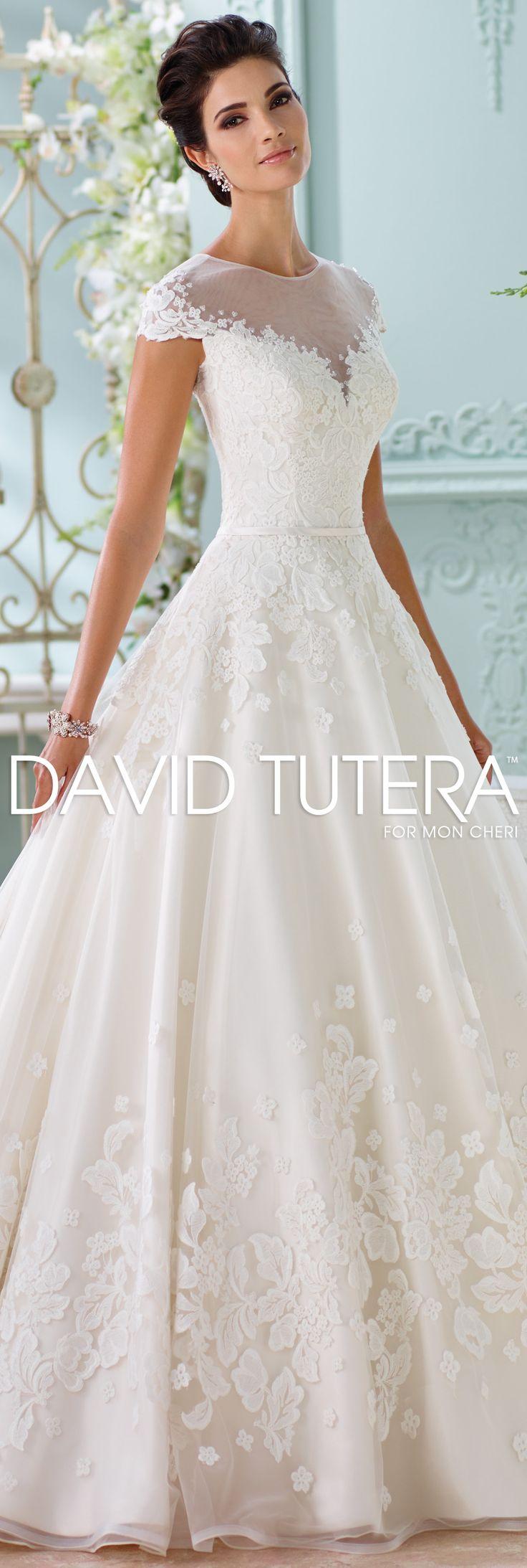The David Tutera For Mon Cheri Spring 2016 Wedding Gown Collection