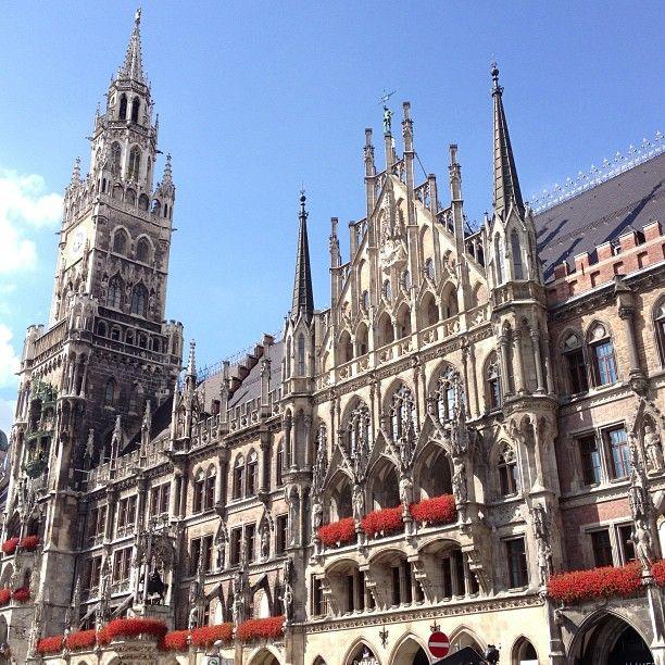 Geschichte erleben auf dem Marienplatz in #München