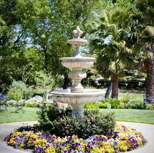 Fuente para jardin fabricada en piedra 518 - Fuente para patio ...