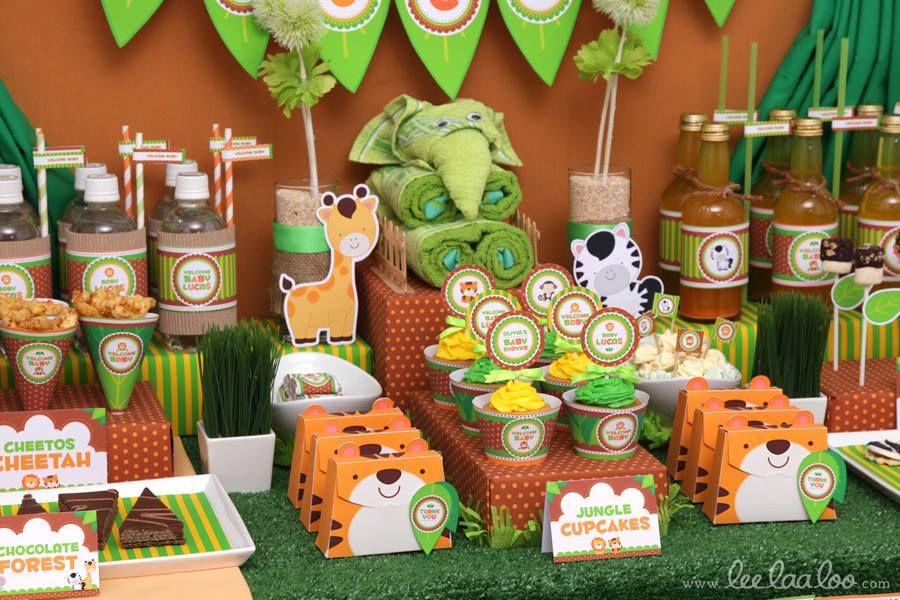 jungle theme baby shower baby shower themes themed baby showers baby