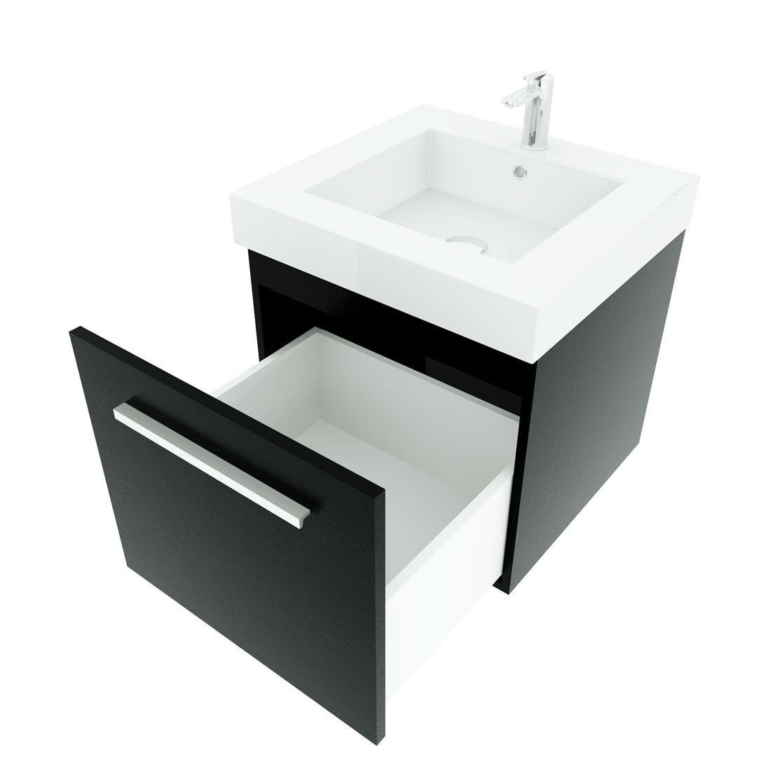 Waschbecken Mit Unterschrank Gaste Wc Badmobel Waschbecken Mit
