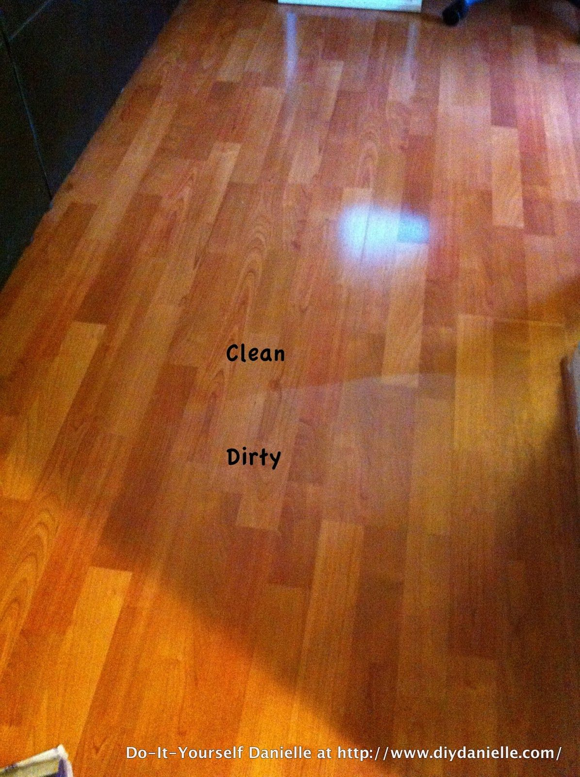 Diy Laminate Floor Spray Cleaner Dew Fer Now How To