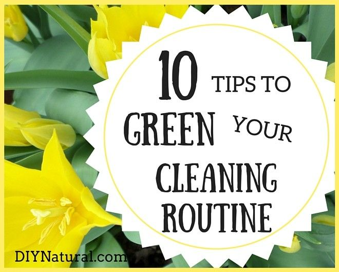 10 Ways to Green Your Clean in 2016 | DIY Natural