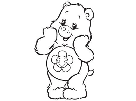 Oh Happy Harmony Bear Coloring Pages Coloring Pages Cute Coloring Pages