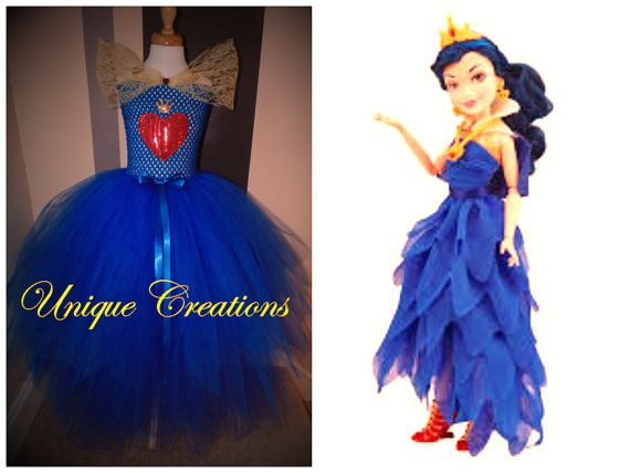 Evie From Descendants Inspired Coronation Tutu Dress Etsy Descendants Clothes Monster High Birthday Party Bday Girl