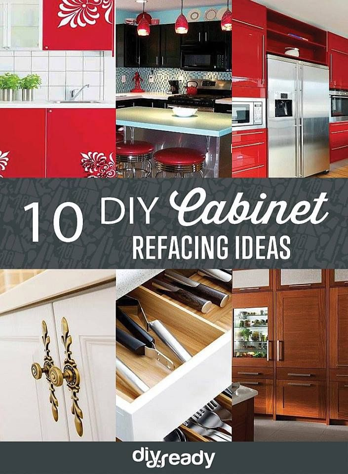 10 Diy Cabinet Refacing Ideas Kitchen Cabinets Makeover