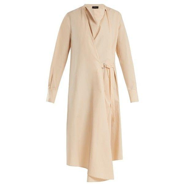 Arran cotton-poplin wrap dress Joseph YJPL1B