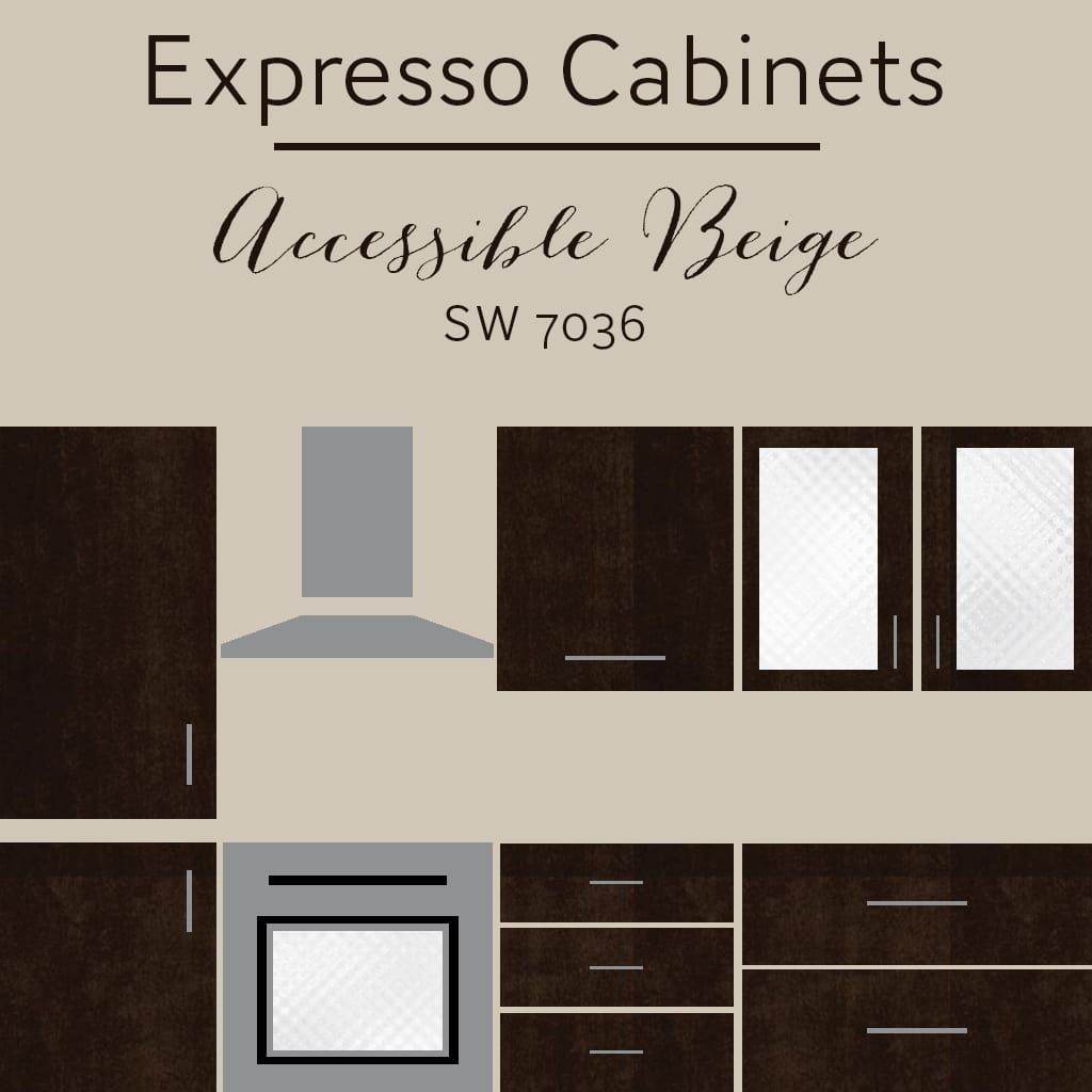 Color Scheme For Accessible Beige Sw 7036 Best Wall