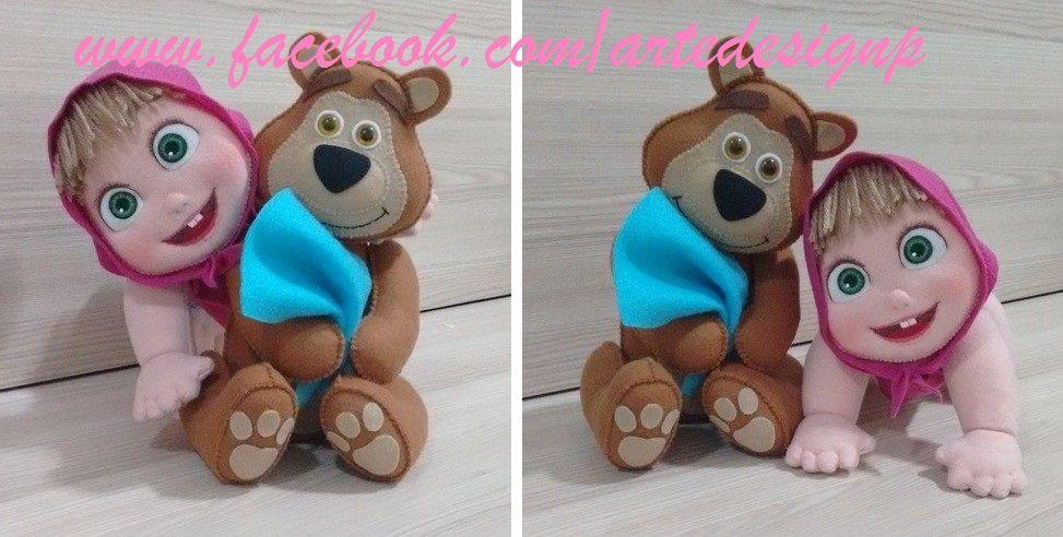 Masha e o Urso (feltro)