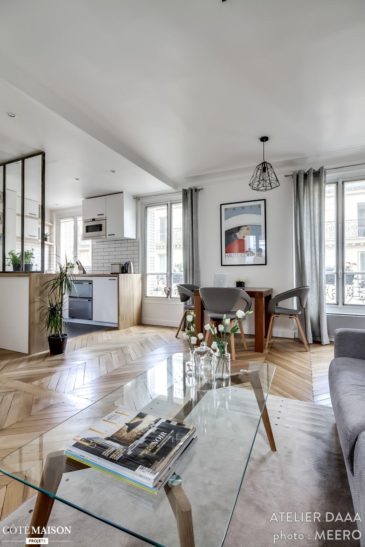 Petit appartement de 38 m2 entièrement revu et corrigé pour offrir ...
