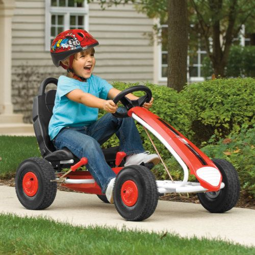"""KETTLER Aero Racer Go-Kart - my 5 year old said """"I want it!""""  Hope to get it for her for birthday or Christmas.  It looks soooo fun!"""