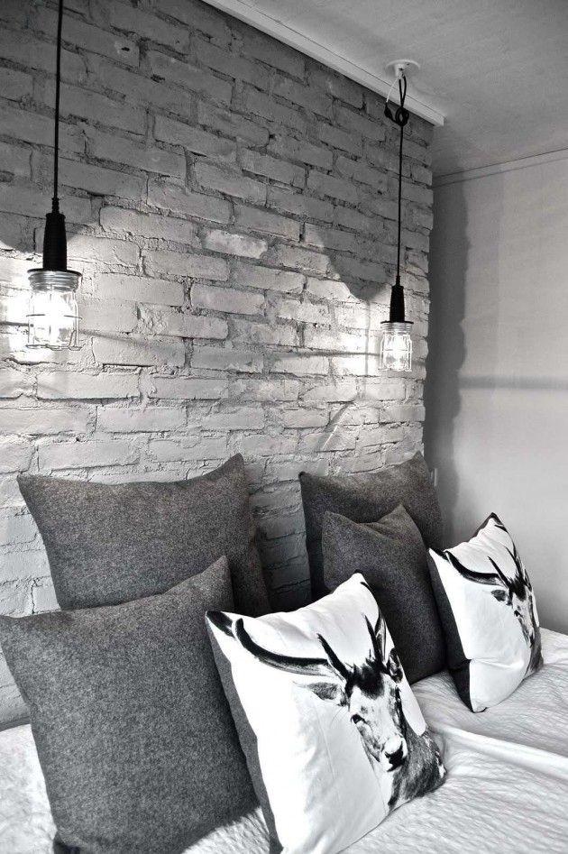 Behang van stenen?? Leuk voor woonkamer | New Apartement | Pinterest ...