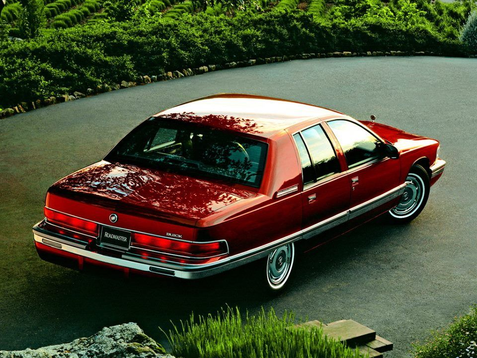 buick roadmaster 1996 sedan 1991 cars 8th generation 1992 rear rather really wouldn classic envision riviera regal auto database gm