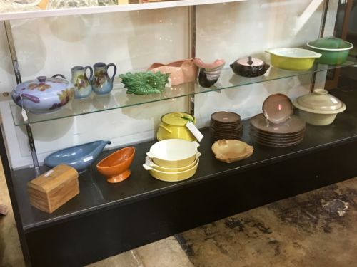 Mid Century Cookware and Pottery   Booth #282  Lula B's  2639 Main St. | Dallas, TX 75226  Open Daily Mon. -- Sat. 11 to 7 Sun. 12 to 7  Like us on Facebook: https://www.facebook.com/pages/