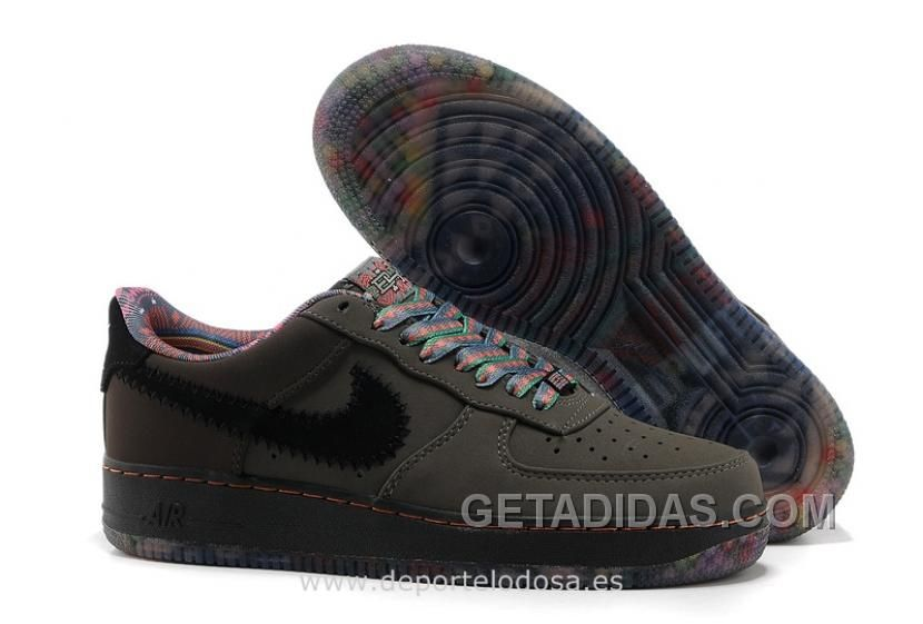 edb39f30ad1fd NIKE AIR FORCE 1 LOW HOMBRE WEAVE NEGRO NAVY COLOR (NIKE AIR FORCE 1 07)  SUPER DEALS Only  70.31