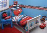 Disney 4 Piece Toddler Bedding Set, Taking The Race