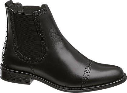 Skorzame Botki Damskie 5th Avenue 1130955 Deichmann Com Boots Chelsea Boots Chelsea