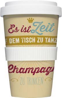 COFFEE-TO-GO Kaffeebecher CHAMPAGNER beige #kaffeebecher #coffeetogo #trinkbecher #kaffeetasse #coffee