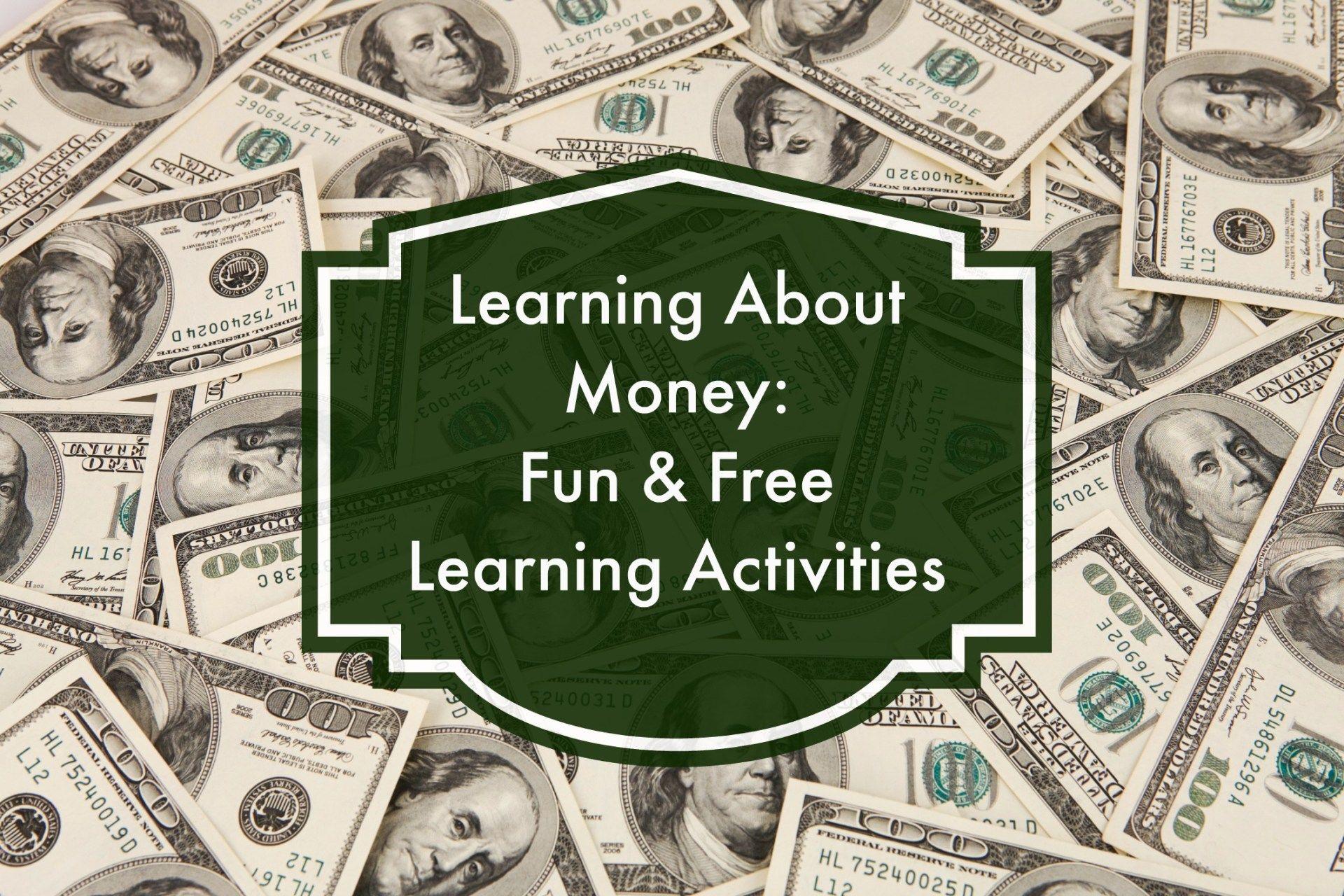 Lesson Ideas For Teaching Money