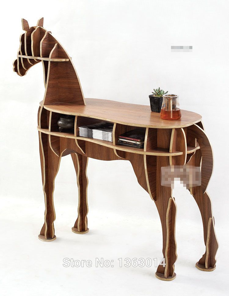 J E High End Series L Size Horse Style Wood Coffee Table New Design In Coffee Tables From Furniture On Aliex Diy Coffee Table Coffee Table Wood Horse Decor