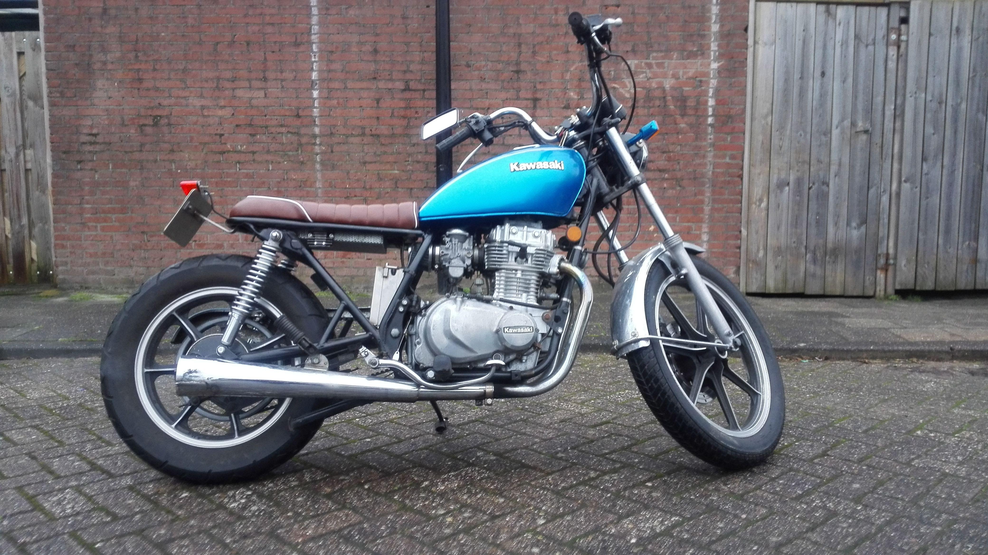 Alot to do kz 440 Kawasaki | KZ440 | Pinterest