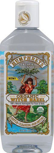 Humphrey's Homeopathic Remedy Organic Witch Hazel - 8 oz - http://essential-organic.com/humphreys-homeopathic-remedy-organic-witch-hazel-8-oz/