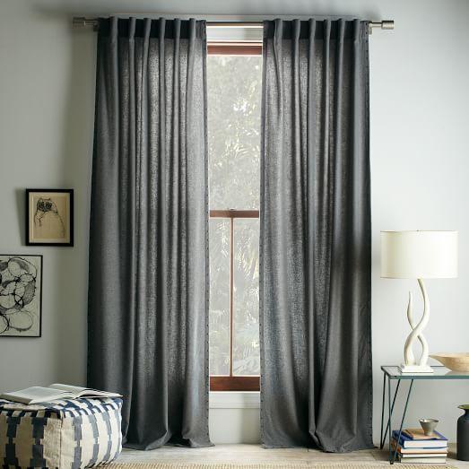 Studded Wool Curtain