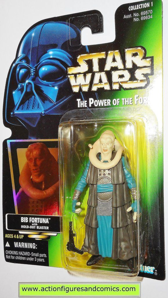 Star Wars Action Figures Bib Fortuna 00 Power Of The Force Hasbro