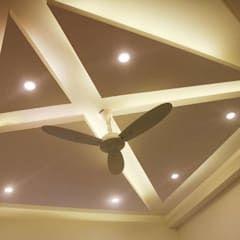 Celling bedroom kumar interior thane flat roof amb