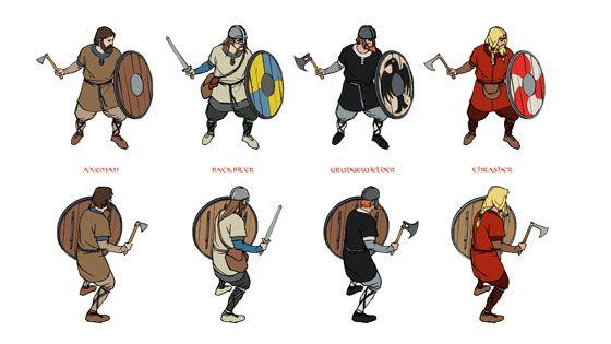 The Banner Saga kickstarter (Viking Strategy/RPG with great 2D art ...