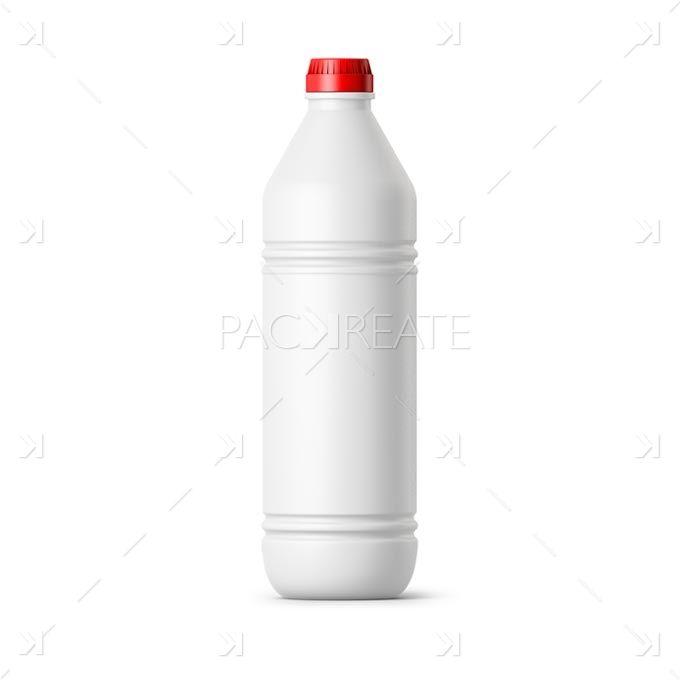 Bleach 1l Bottle Smart Label Packreate Bottle Packaging Mockup Labels