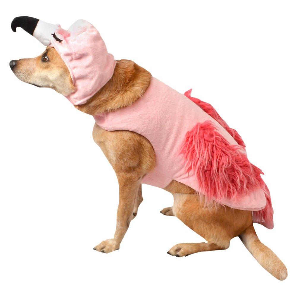 Halloween Flamingo Dog Costume Sets - Pink - XL - Boots & Barkley ...