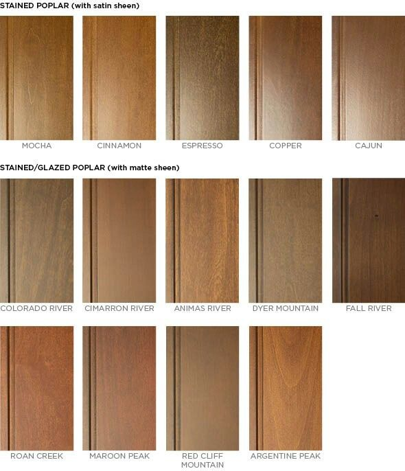 Poplar Stain With Images Staining Wood Staining Cabinets