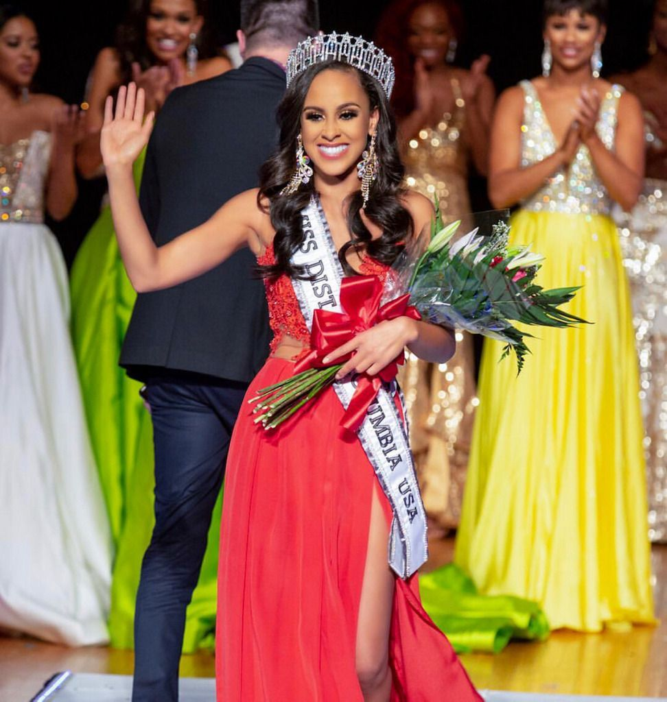 From foster care to miss dc afro celebrities miss d