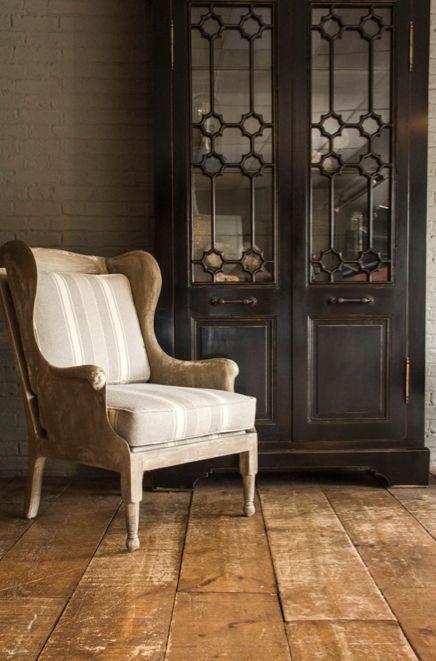 van thiel co alderman 39 s lyon chair with jonny walker doors cabinet interiordesign homedecor. Black Bedroom Furniture Sets. Home Design Ideas