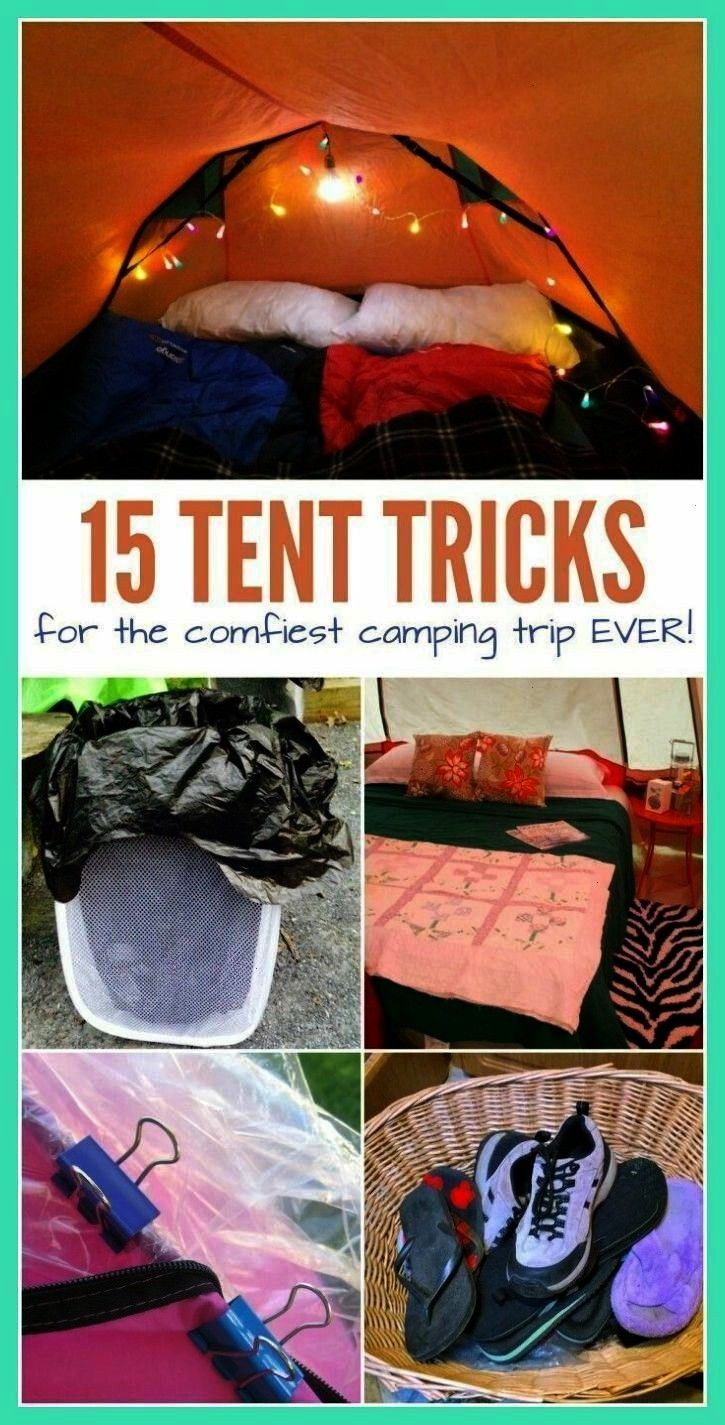 >> 15 Tent Hacks to Make Your Tent the Comfiest Place on Earth | Glamping Trail... -Glamping Tent >