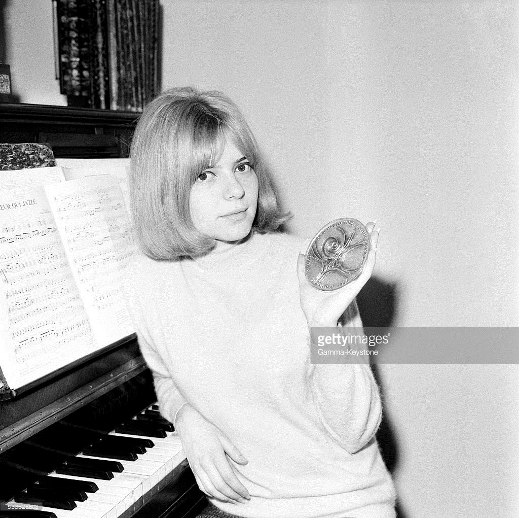 eurovision song contest 1965 winner france gall for luxembourg