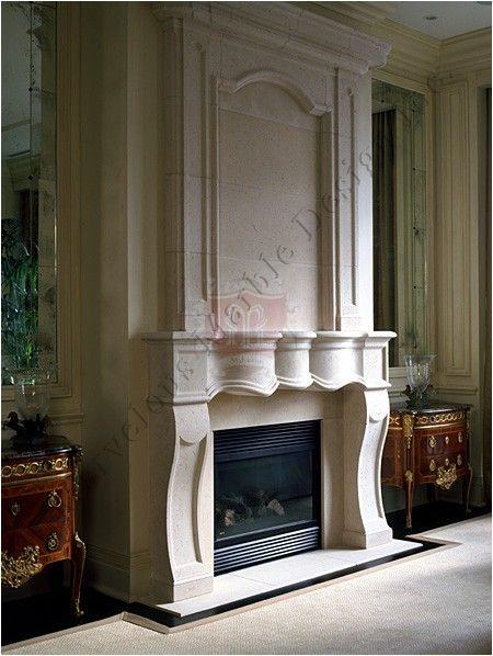 Bellair luxury limestone fireplace mantel fireplace for Luxury fireplace designs