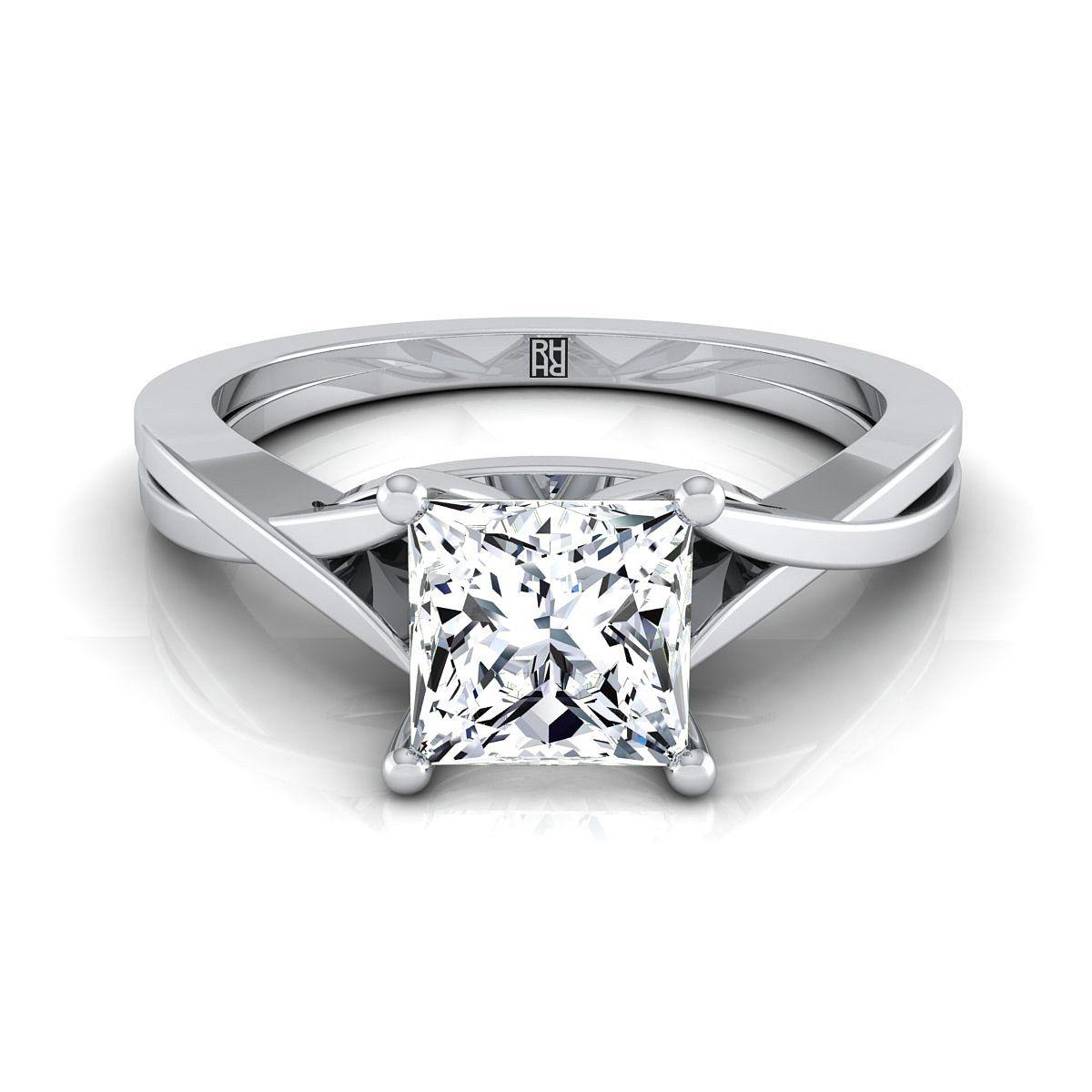 44+ Princess cut wedding band platinum information
