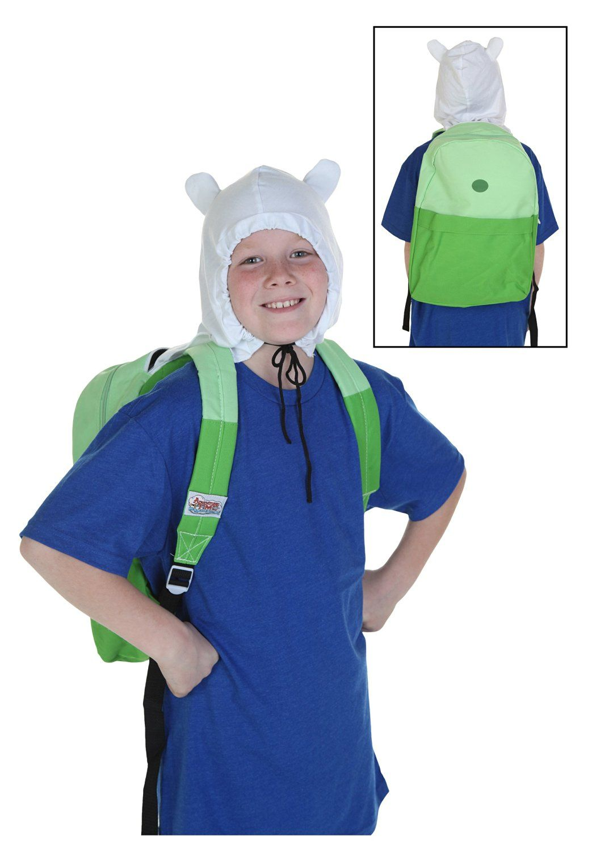 adventure time finn hood costume backpack >>> insider's special