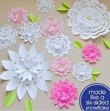 Resultado de imagem para imagem flores natalinas em papel holly brooke jones instructions for making paper flower flakes photo booth idea mightylinksfo