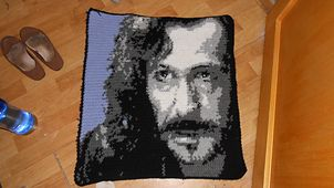 Ravelry: Harry Potter Portrait Squares pattern by Candice (Textile Transfigurations)