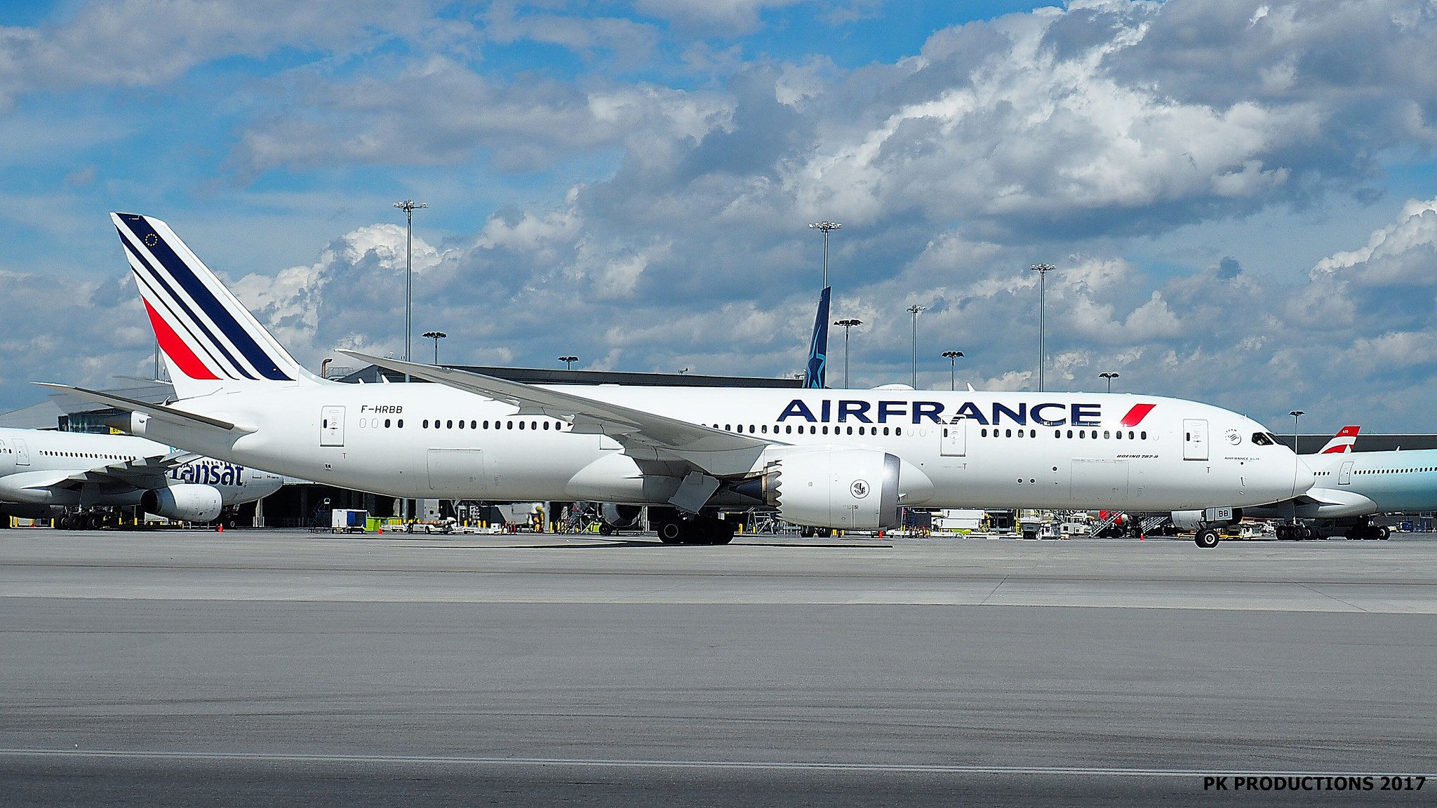 P7030302 TRUDEAU Air france, France country, Boeing 787