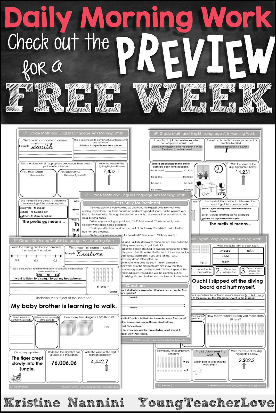 4th grade english homework help