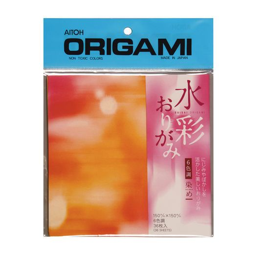 get the aitoh suisai origami paper, tie dye at michaels. make