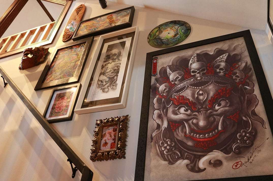 The Old Crow Tattoo Parlour from concept to reality