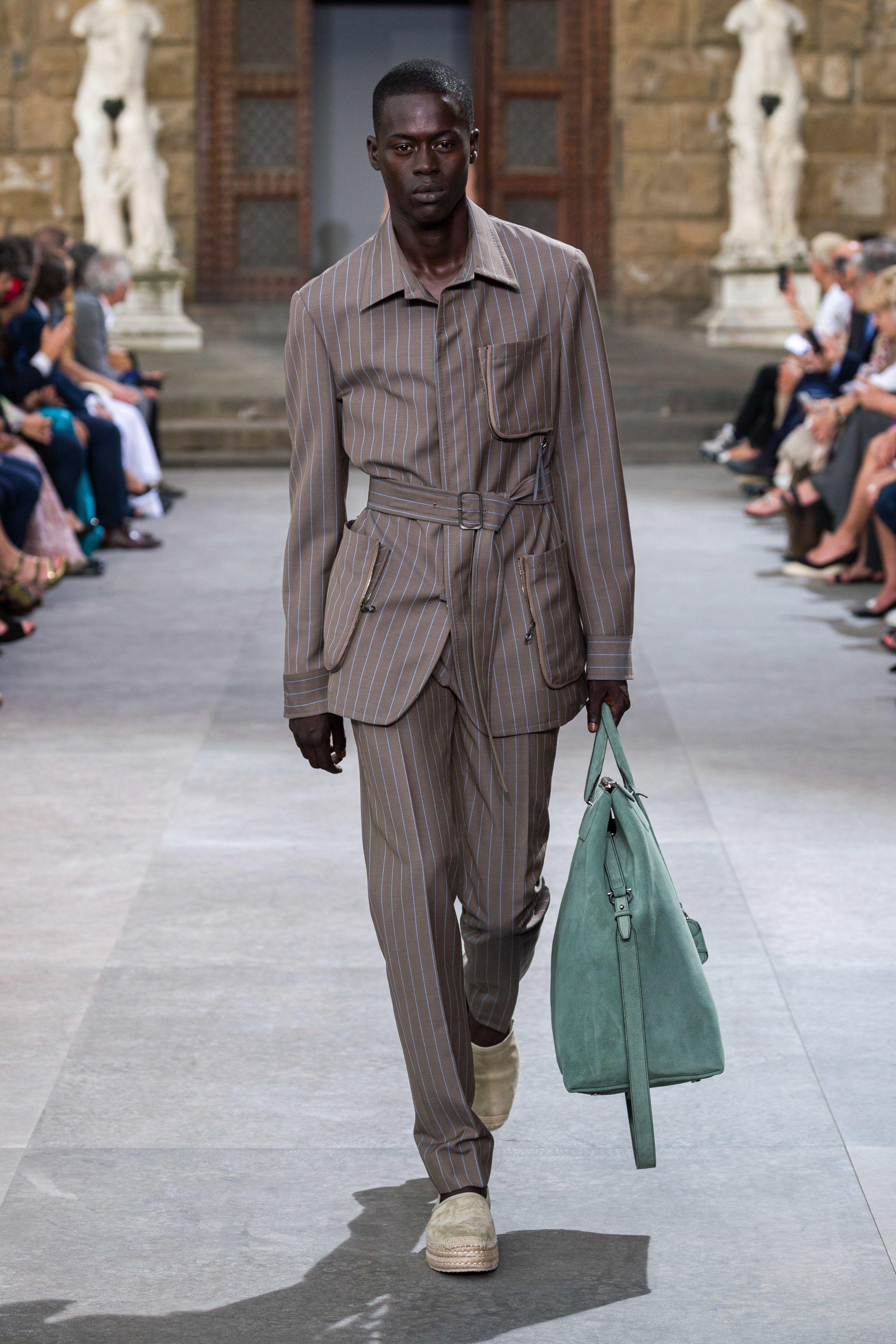 Salvatore Ferragamo Spring 2020 Menswear Fashion Show in