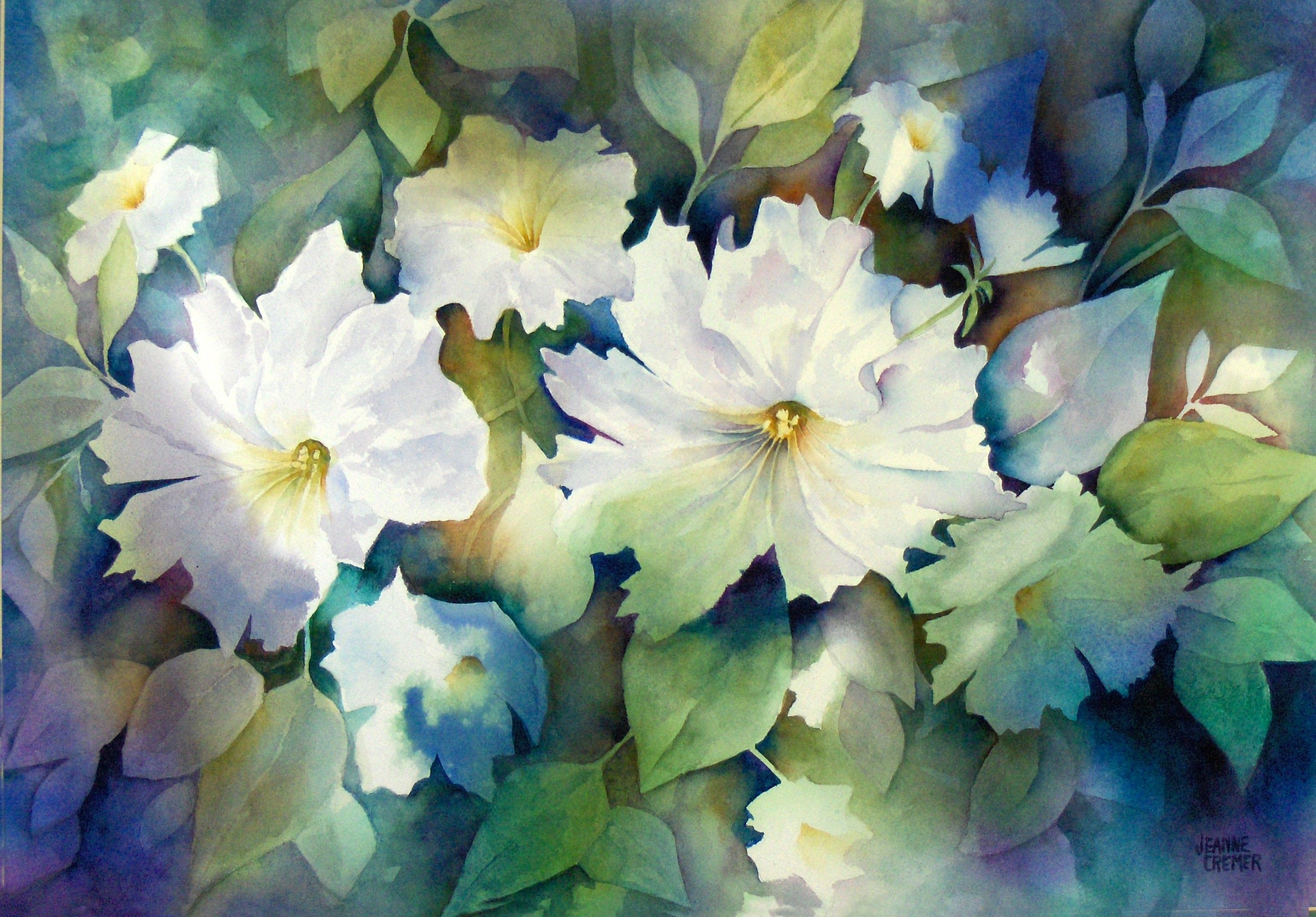 Pin Pomm Watercolor Paintings Famous Artist Oil