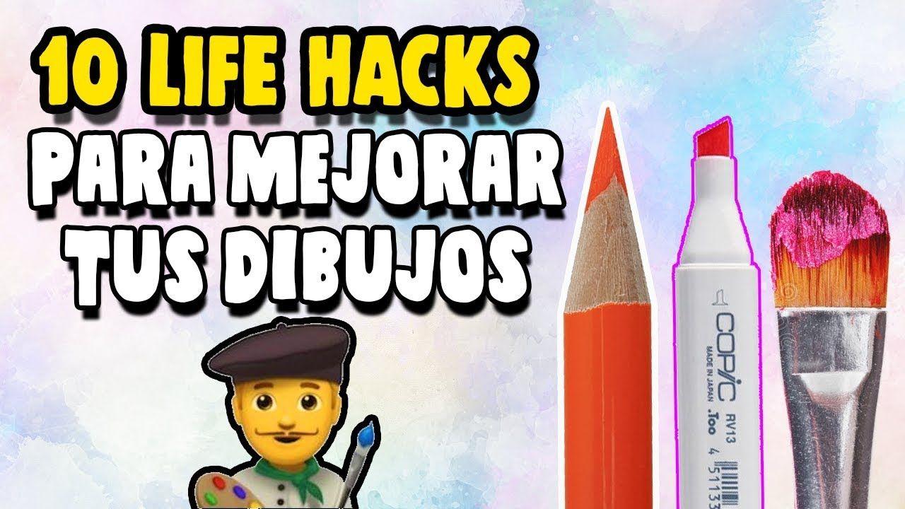 10 Life Hacks Para Dibujantes Mejora Tus Coloreados 10 Life Hacks To Pinturas De Gato Videos De Dibujos Dibujos